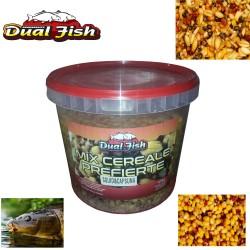 Nada Dual Fish, Mix cereale prefierte, Ambalat la galeata de 5kg, seminte prefierte si aromatizate