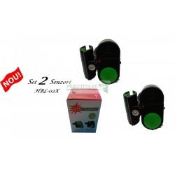Set avertizori senzor sonor HBL-02X direct pe lanseta