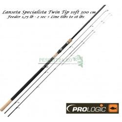 Lanseta Prologic Specialista Twin Tip 10 ft 1,75lb, TC - 2sec