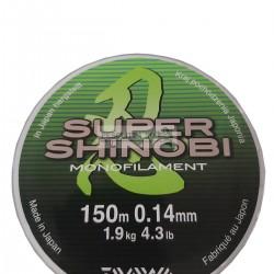 Fir Monofilament Super Shinobi DAWA Mist Green 150m Mona XX