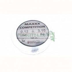 Fir monofilament Hakuyo Maxxx Competition , lungime 100m, diametru :0.08mm