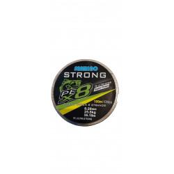Fir textil PEx8 STRONG X8 Braided Line 100m, Super Power