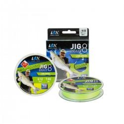 Fir L&K Jig Braid Lime Green 110m